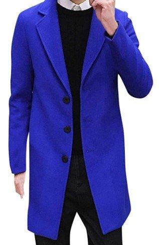 Abrigo azul eléctrico