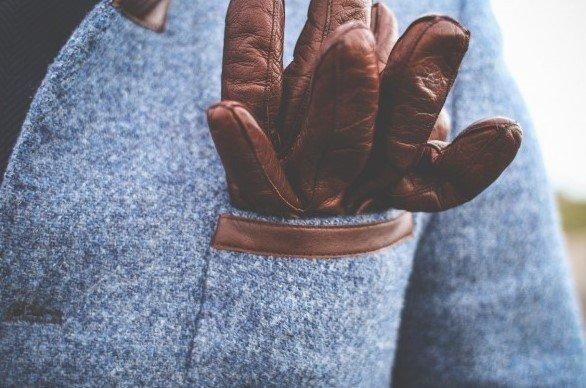 Abrigo texturizado hombre