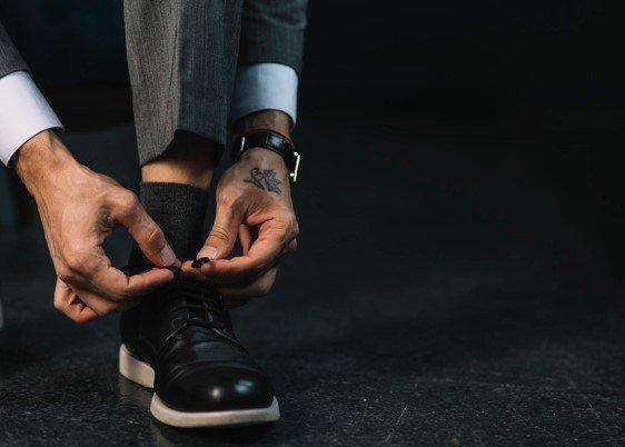 Calcetines de vestir hombre