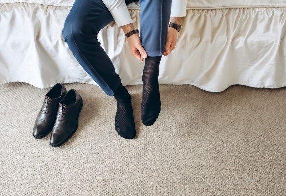 Calcetines traje hombre