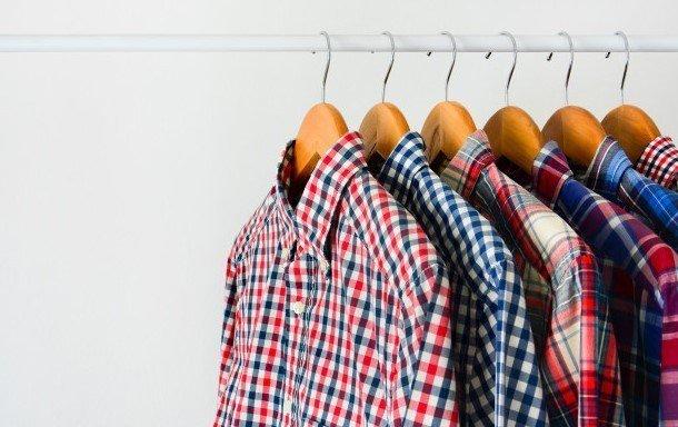 Camisas de cuadros hombre