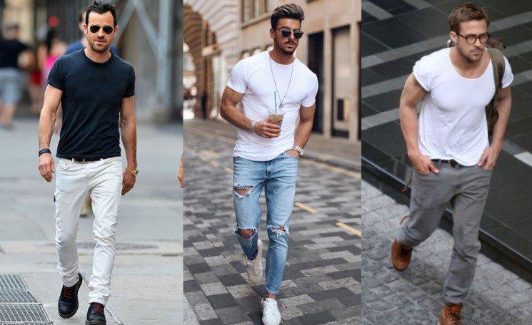 Cómo usar camisetas lisas