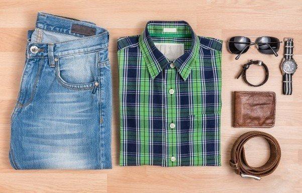 Cómo usar una camisa de franela