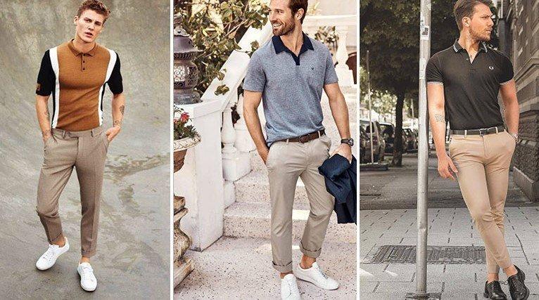 Polo y pantalón chino