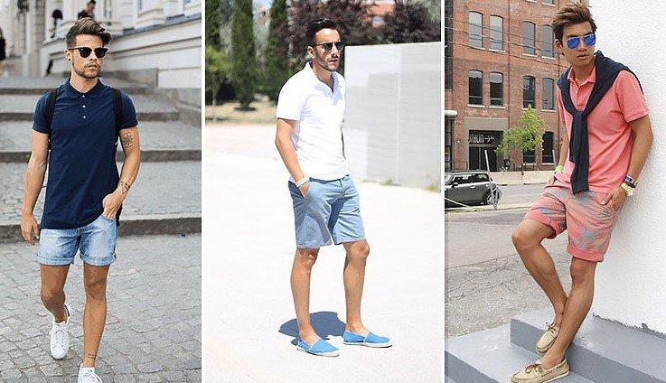 Polo y shorts