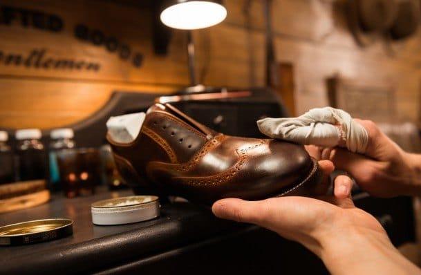 Zapatos marrones hombre