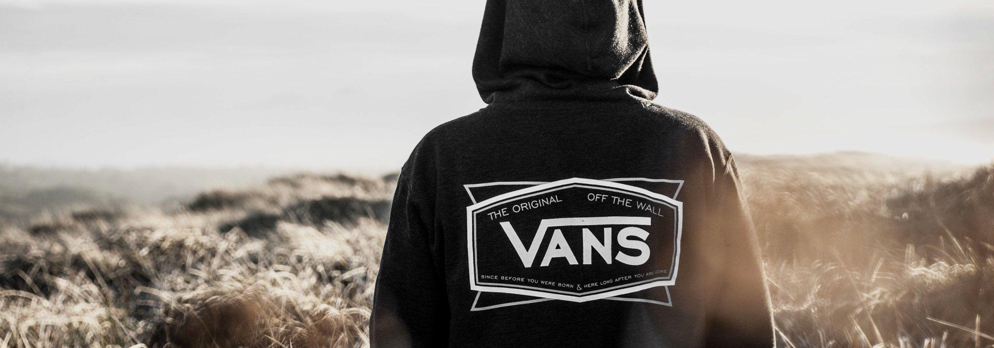Sudadera Vans con capucha para hombre